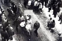 Na generální stávku ve Frenštátě pod Radhoštěm přišlo kolem tří tisícovek lidí.