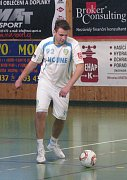 Dalibor Nový se stejně jako celý tým snažil pořádně potrápit favorizovaný Třinec.