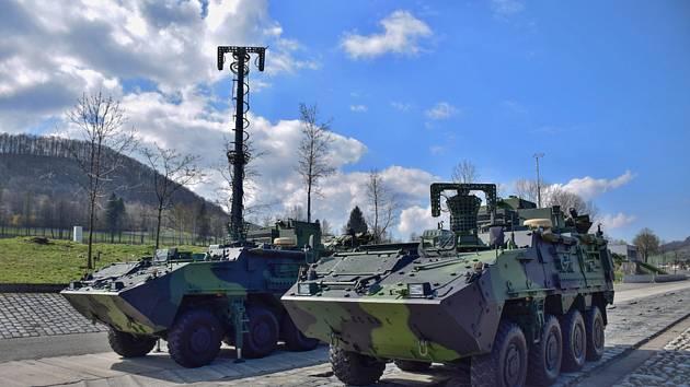 Společnost Tatra Defence Vehicle (TDV) předala české armádě poslední čtyři z objednaných 20 speciálních vozidel Pandur II CZ.