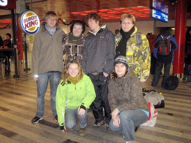 Plavci KVS Kopřivnice v Plzni úspěšně zakončili rok 2009.
