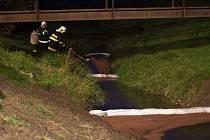 Zásah hasičů na Sezině