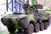 Ve středu 30. září došlo k předání bojových vozidel Pandur II 8×8 a jejich výroby do České republiky. Akce proběhla ve Vojenském opravárenském podniku 025 v Šenově u Nové Jičína.