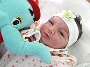 YASMINA POTOČKOVÁ je prvním děťátkem Denisy Balogové a Josefa Potočka z Jaroměře. Holčička se narodila 24. dubna 2017 ve 13.11 hodin, vážila 2920 gramů a měřila 48 centimetrů.