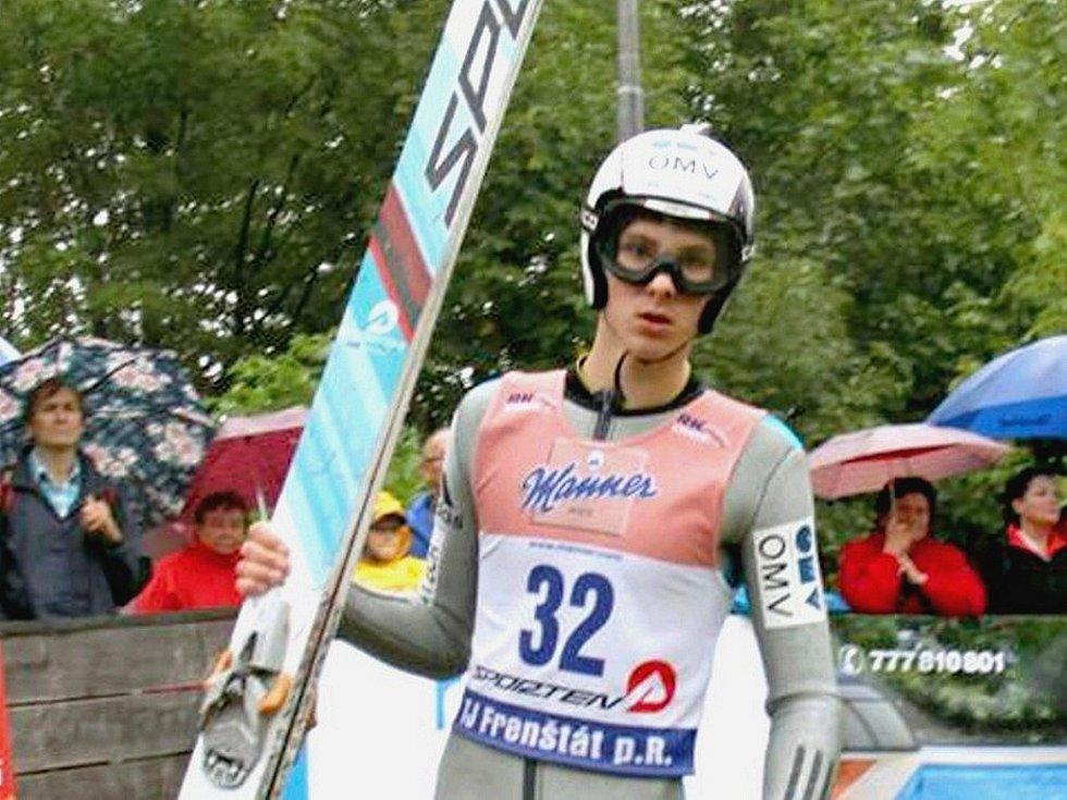 Vítěz jedné z juniorských kategorií v polské Wiśle - Malince Filip Sakala z Frenštátu pod Radhoštěm.