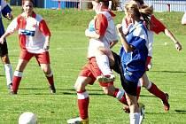 Sedmé kolo A skupiny Moravskoslezské divize žen svedlo dohromady jednoho z favoritů soutěže, Spartak Lubinu, a stachovickou Slavii.