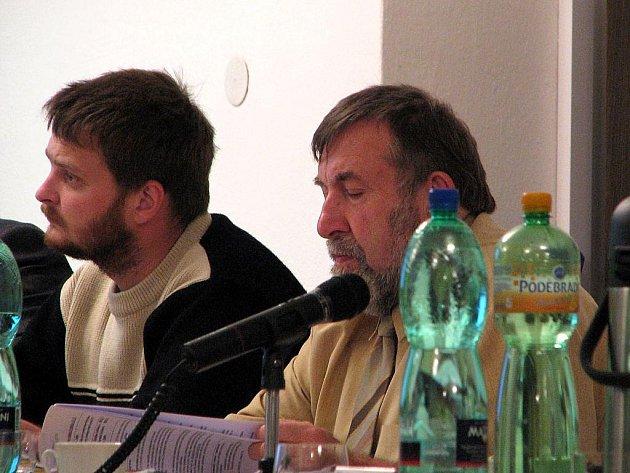 Zdeněk Šmajstrla vpravo.