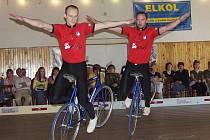 Bratři Petr a Kamil Bartůňkovi vybojovali ve Zlíně osmý titul mistra České republiky v krasojízdě dvojic v řadě.