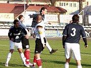 Fotbalisté Nového Jičína doma porazili Lískovec 3:1.