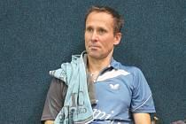 Někdejší reprezentant Martin Olejník se představil fanouškům v novojičínské hale v Loučce.