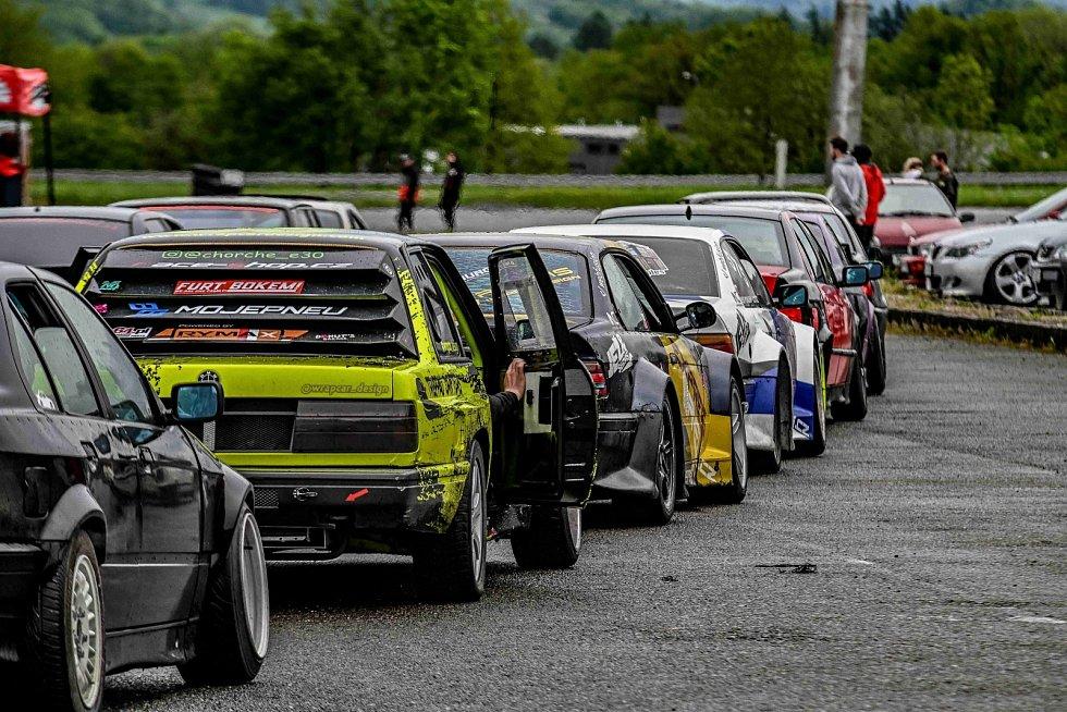 Rally KoprCup se jel v sobotu 22. května na kopřivnickém Tatra polygonu