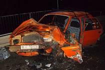Při nehodě v Mankovicích se zranili čtyři lidé