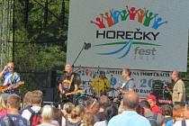 Již šestý ročník multižánrového festivalu Horečky fest zaplnil v sobotu 9. července amfiteátr na Horečkách ve Frenštátě pod Radhoštěm i jeho okolí.