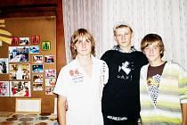 Robin Suchánek (vlevo) měl z návštěvy charitativního koncertu, jako jeho organizátor, velkou radost.