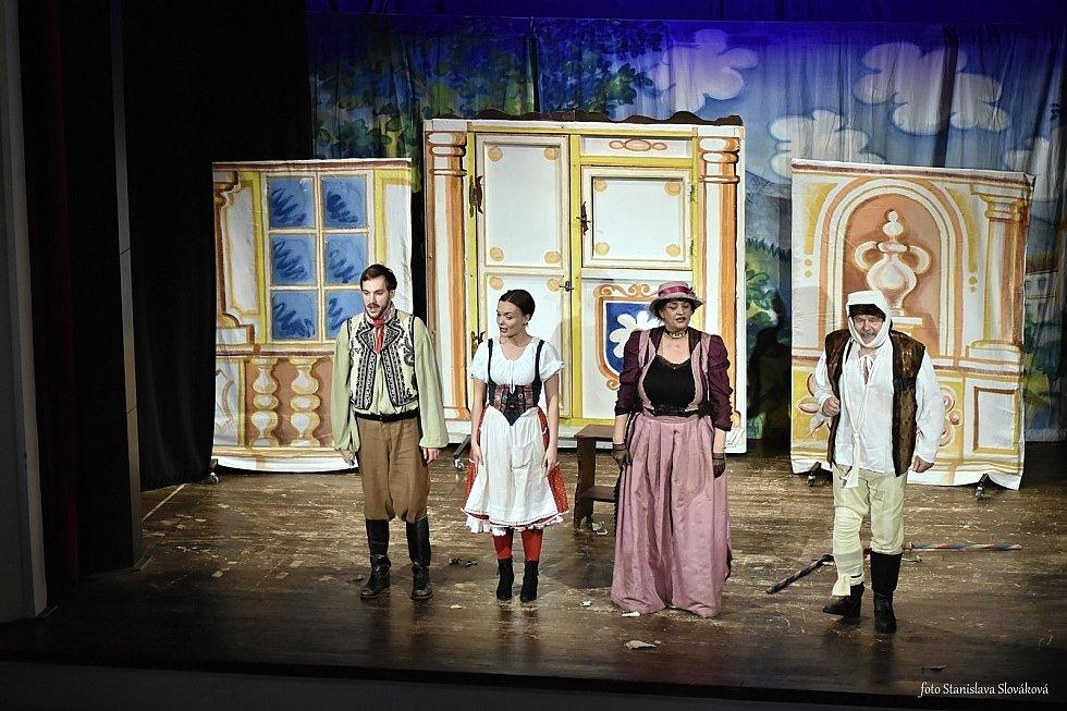 Představení pohádky Čert a Káča se uskutečnilo v Příboře.