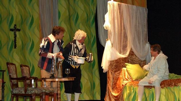 Z vystoupení divadelního souboru Oldřivous.