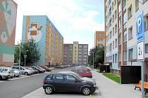 Stavební práce probíhaly na sídlišti především na ulici 17. listopadu.