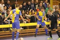 Kopřivnické futsalové derby vítěze nenašlo.