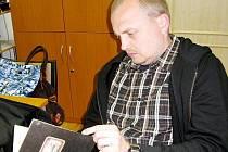 Kryštof Hyvnar, objevitel vzácného deníku.