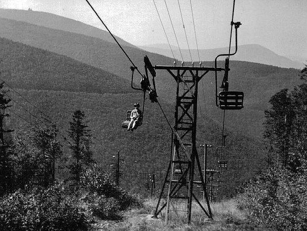 Fotografie z 60. let minulého století.