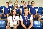 Juniorští plavci Nového Jičína přivezli z bratislavského Orca Cupu devět cenných kovů.