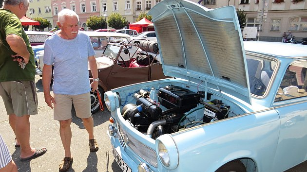Trabant Retro Rally Weekend, 2020, Fulnek