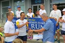 Mezinárodní mírový běh zavítal ve čtvrtek 20. června do Kopřivnice.