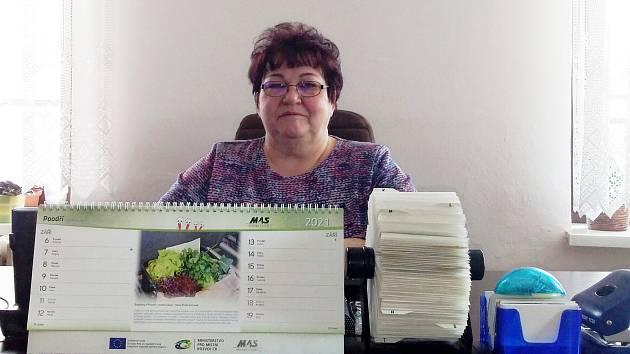 Kateřina Křenková, starostka Bartošovic, má s vedením obce dlouholeté zkušenosti.