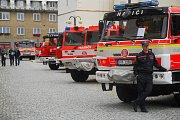 Slezské náměstí v Bílovci patřilo v sobotu 2. září oslavám Dne města a 150. výročí místních dobrovolných hasičů.