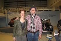 Paul Greenstein a Dydia DeLyser, majitelé Tatry 87, jež vyhrála anketu o nejhezčího veterána v deníku New York Times.