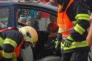 Den se záchranáři ve Frenštátě pod Radhoštěm.