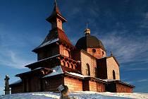 Kaple na Radhošti.
