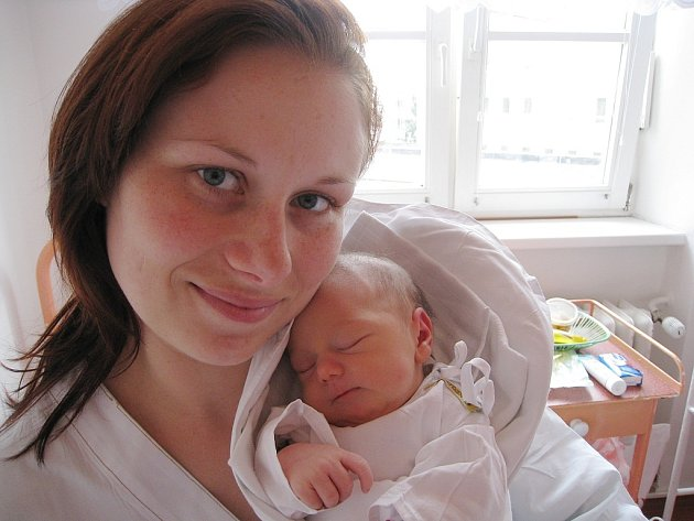 Kateřina Jurajdová, Nový Jičín, nar. 16. 6. 2008, 2850 g, 48 cm