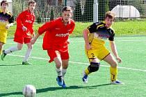 STARŠÍ dorost FK Nový Jičín sehrál zajímavé utkání s FC Slušovice již v loňské sezoně (na snímku).