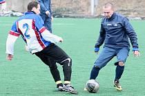 Fotbalisté FK Nový Jičín ovládli předposlední přípravný duel, když doma rozstříleli Ústí u Hranic 5:0.