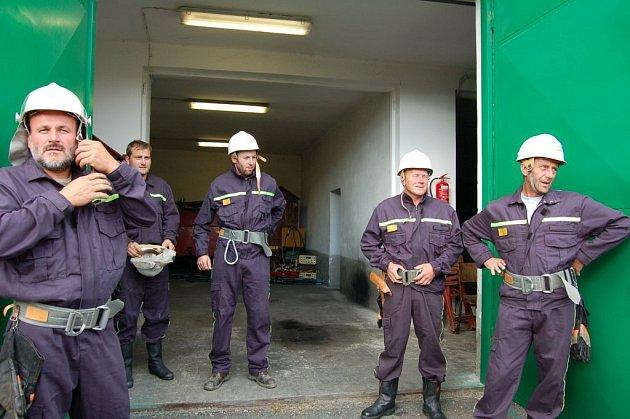 Akceschopnost dobrovolných hasičů prověřovali v Bílovci.