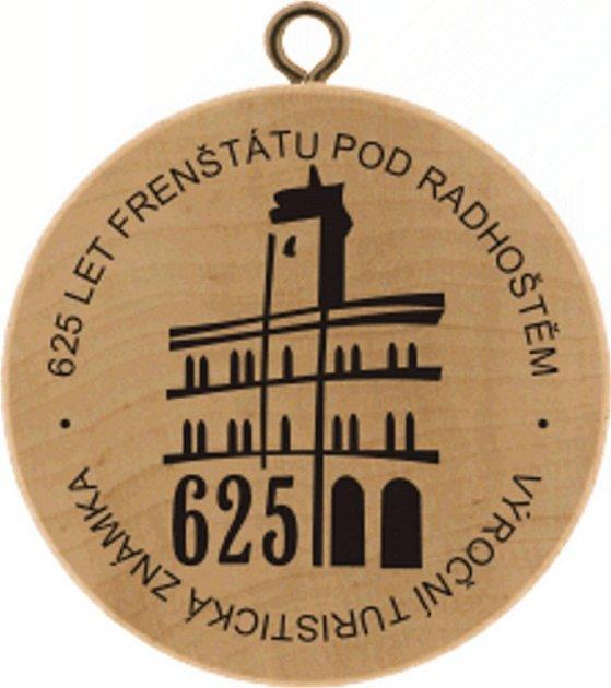 K 625. výročí založení města vydalo Informační centrum turistickou známku.