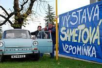 Vůz Škoda 1000 MB vábí na unikátní retro výstavu ve Středisku volného času Fokus v Novém Jičíně.