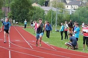 Okresní kolo Odznaku Všestrannosti Olympijských Vítězů se uskutečnilo v pondělí 19. května v Odrách na hřišti ZŠ Pohořská.