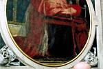 Jaroslav Zezulčík ve věku 47 let u náhrobku předka kunínské hraběnky v katedrále v Salzburku.