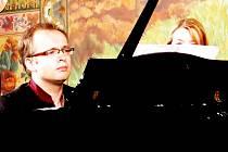 Martin Kasík, klavirní virtuóz, hrál po tři víkendové hry na festivalu ve Frenštátě pod Radhoštěm.