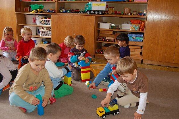 Školky se modernizují, nyní i v Odrách. Ilustrační foto.