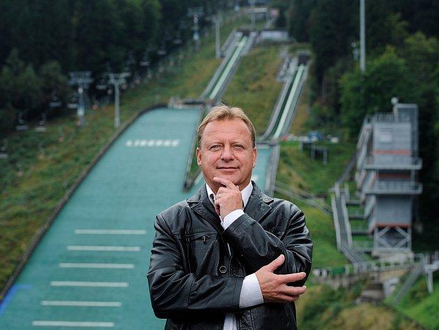 Dvojnásobný olympijský medailista Pavel Ploc.