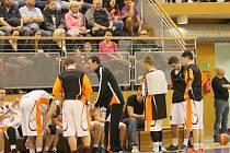 Novojičínští basketbalisté. Ilustrační foto.