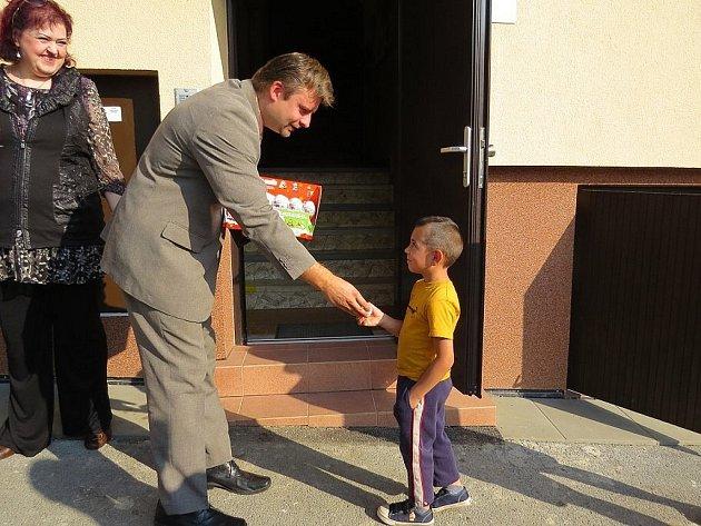 Den sociálních služeb vNovém Jičíně. Charitní dům se na chvíli otevřel pozvaným návštěvníkům.