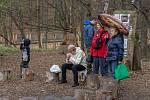 Již počtvrté se konalo v sobotu 6. dubna na Horečkách na pomezí Trojanovic a Frenštátu pod Radhoštěm Vítání ptačího zpěvu.