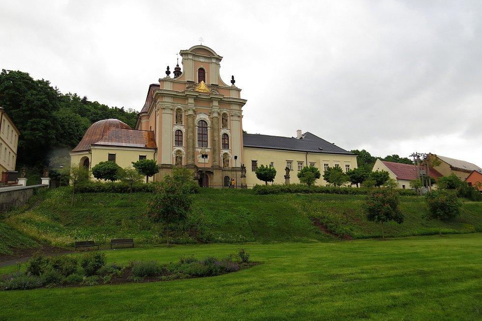 Fulnecký kostel Nejsvětější Trojice se otevřel široké veřejnosti v rámci Noci kostelů v pátek 28. října 2021 po rozsáhlé opravě.