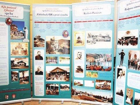 Expozice Kdo postavil Libušín? Ilustrační foto.
