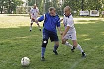 V hlavním zápase se bojovalo urputně, ale v duchu fair play.