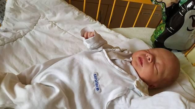 Sebastian Michálek, 18.8., 47 cm, 2880g, Kopřivnice, Nemocnice Nový Jičín