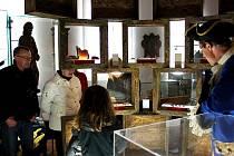 Silvestr v muzeu ve Frenštátě pod Radhoštěm.